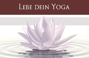 Lebe dein Yoga